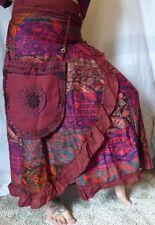 Wrap Skirt, Fairy, Bohemian, Elven, Tribal Skirt, Festival, Goa, Hippy,Pixie