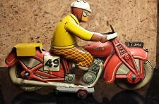 """Mettoy 7.5"""" Sportsman Motorcycle 