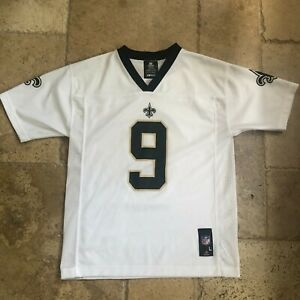 New Orleans Saints Brees Jersey Youth NFL Team Apparel Large 14/16 White 8