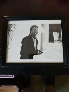 Double Signed and Framed Little Richard Photo JSA COA