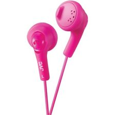 JVC HAF160P Gumy Earbuds/Earphones (Pink) with Bass Boost for tablets/mp3/Laptop