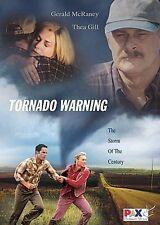 TORNADO WARNING/New DVD/GERALD McRANEY/Joan Van Ark/NATURAL DISASTER THRILLER