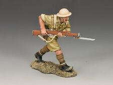 KING AND COUNTRY EA083 EA83 CHARGING WITH RIFLE - BRITISH EIGHTH ARMY 1:30 SCALE