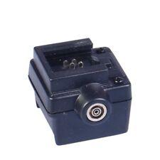 Adaptateur griffe hot shoe pour Canon Nikon vers boitier Sony Minolta+ 1 port PC