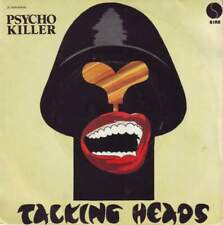 Talking Heads - Psycho Killer - Miniature Poster & Card Frame
