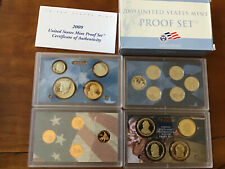 2009 United States Mint Proof Set Coins With COA & Box