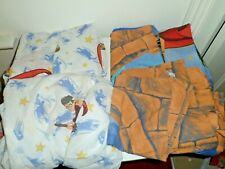 Single children bedding set - Harry Potter, 4 pillows covers & 2 fitted sheets