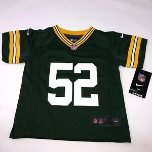 Green Bay Packers Clay Matthews NFL Nike Toddler Jersey Size 4T