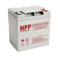 NPP HR12110W 12V 110W 28Ah High Rate Long Life UPS Rechargeable Battery