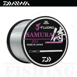 Daiwa J-Fluoro Samurai Fluorocarbon Fishing Line [1000yds] Select LB Test