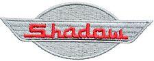 SHADOW SW IRON ON PATCH Aufnäher Parche brodé patche toppa honda SABRE VT 1100