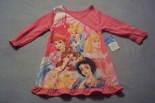 Disney Princesses Pajama Sleep One Piece Childs Girls 12 Months