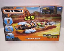 NEW Matchbox Elite Rescue Turbo Canoe Vehicle by Matchbox 'On A Mission' Toy