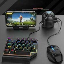 Automatic Mobile PUBG Gaming Keyboard Mouse Converter Bluetooth for IOS Android