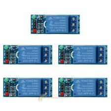 5pcs 1 Channel DC 5V Timer Relay Switch Module For Arduino Raspberry Pi ARM AVR