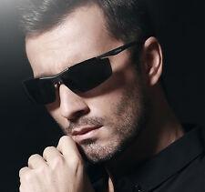 Veithdia Men Black Aluminium Fashionable Stylish Polarized Sport Sunglasses Male