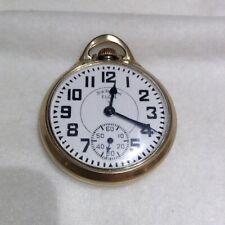 21j Pocket Watch Elgin B. W Raymond