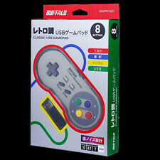 New Buffalo SNES Super Nintendo Famicom Turbo USB Gamepad Controller for PC Mac