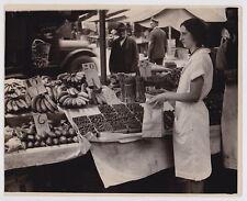 Lexington Market Vegetable Stand MOVING TRUCK * VINTAGE 1931 ICONIC Rare photo