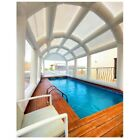 Inflatable Hot Tub Swimming Pool Enclosure Solar Dome Cover Tent W/ Blower NEW