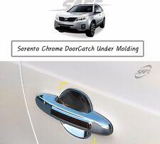 SAFE Chrome Door Catch Under Molding 4Pcs For KIA Sorento 2011 2014