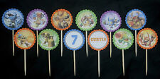 Skylanders personalised 12 pack cupcake toppers picks