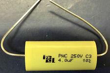 icel PHC 4uf 250v 85°C Axial polipropileno Condensador