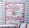 SALE - Hugs & Kisses - pieced & applique quilts, pillowcase, and tent PATTERN