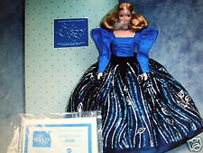 Blue Rhapsody Barbie 1986 Porcelain 1st Edition MIB HTF Shipper
