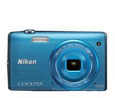 Nikon COOLPIX S5200 16.0MP Digital Camera 6x Zoom Quick Effect - Blue
