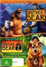 Brother Bear / Brother Bear 2 (DVD, 2008, 2-Disc Set)