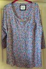 TU Super Soft Modal Tunic Top, Very Boho, Size 16 - Super!