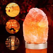 Himalayan Salt Lamp Natural Crystal Rock Shape Dimmer Switch Night Light 1-2 kg