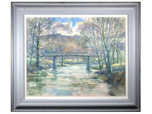 Pybus - 'Winter Day, Grosmont, Whitby' - North Yorkshire Oil Painting, Landscape