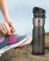 Doeplex Water Bottle with Time Marker, BPA Free Sports Travel Water Bottle Cup