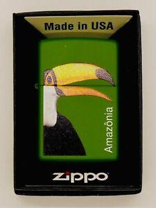 Collectable ZIPPO Amazonia Brazil Lighter, New!