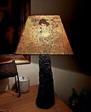 KLIMT Square Decoupage Lampshade Kiss Adele Design Night Light Handmade Gift