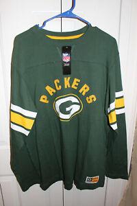 Majestic Greenbay Packers Long Sleeve, XL