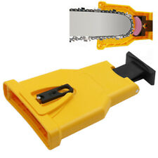 Chainsaw Teeth Sharpener - PowerSharp Bar-Mount Chainsaw Chain Sharpening