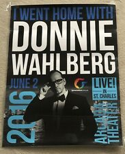 "New Kids On The Block Donnie Wahlberg 18"" x 24"" I Went Home w/ Donnie Poster"