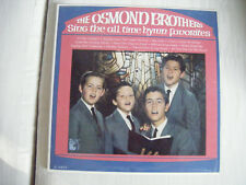 RARE Osmond Brothers Hymn Gospel Favorites Canada Record Vinyl LP - Delisted