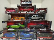 New ~ Jada Diecast ~ Fast And Furious ~ 1:24/1:32 ~ Your Choice