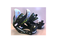 New Firefly A5 junior small snowboard bindings black small size 13.5 - 6.5 kids