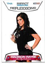 Madison Rayne 2012 TriStar TNA Impact Reflexxions Silver Card # 85 05/40