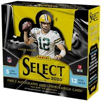 2020 Panini Select NFL One Hobby Box Random Team Break! Break ID: 528C#5