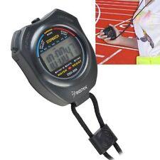 Articles de fitness tech noirs chronomètre