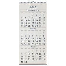 2022 At A Glance Sw115 28 3 Month Wall Calendar 12 X 27