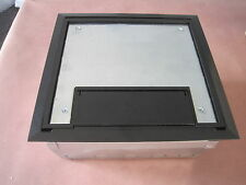 Thomas and Betts Catalog # AFM-8-BLK STEEL FLOOR INSERT