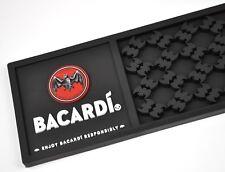 Bacardi Rum USA Barmatte Abtropfmatte Bar Spill Mat Fledermaus Logo