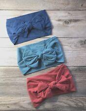Baby Easter Headband Bow Toddler Girls Elastic Lightweight New Set of 3